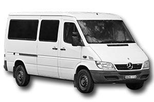 Minibus rental sample