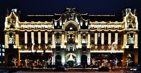 Gresham five star hotel budapest