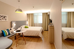 More accommodation choices with bus rental: hotel room image