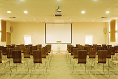 Move your groups together in a charter bus: conference venue image