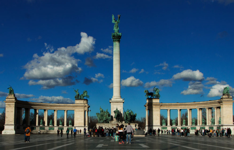 Heroes square photograph