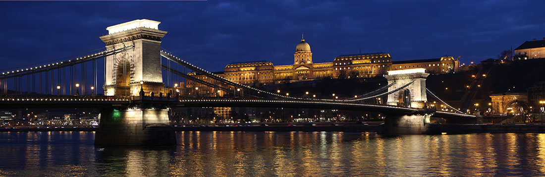 Buda Castle Budapest stock photo